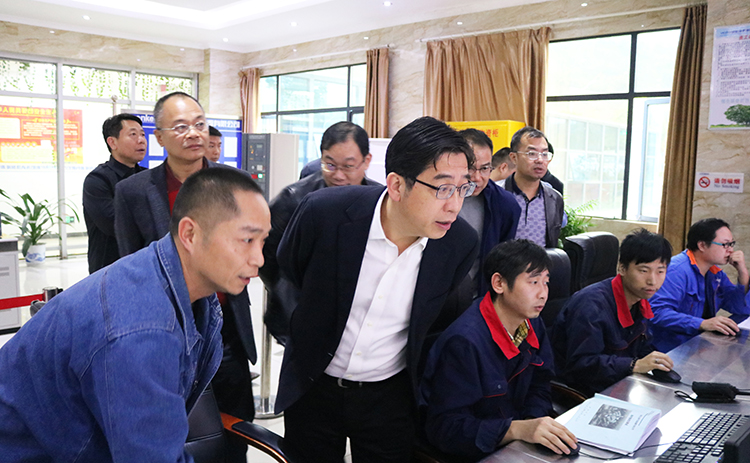 衡阳市市长邓群策一行到永清环保衡阳垃圾发电厂调研指导工作